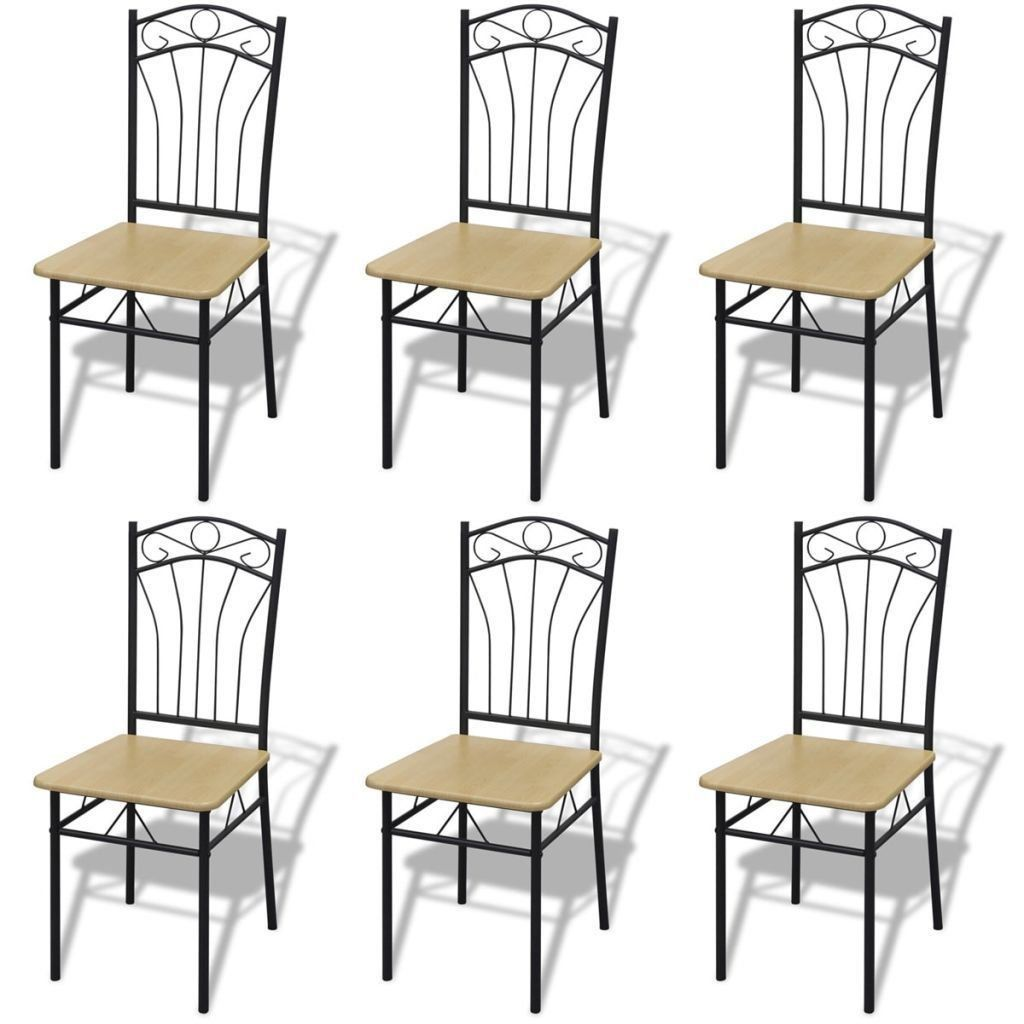Venta > metal dining room chairs set of 9 > en stock