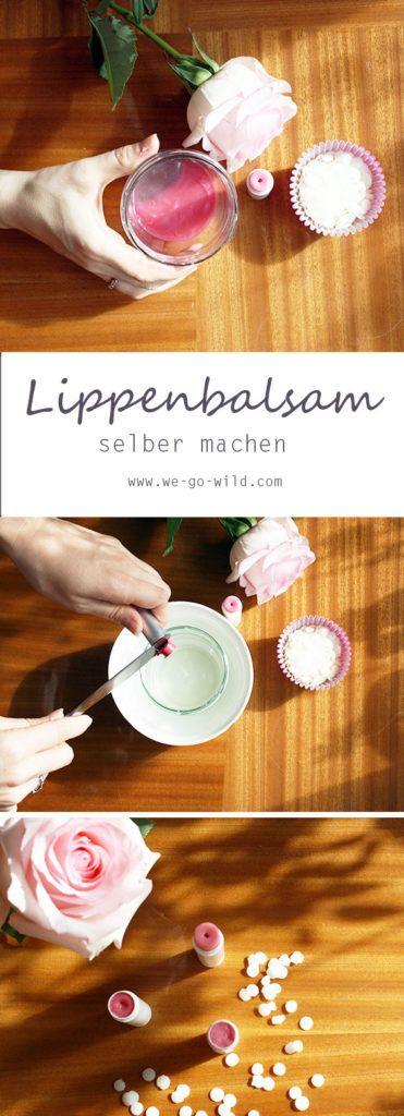 lippenbalsam selber machen anleitung und rezept f r deine lippenpflege insprationen ideen. Black Bedroom Furniture Sets. Home Design Ideas