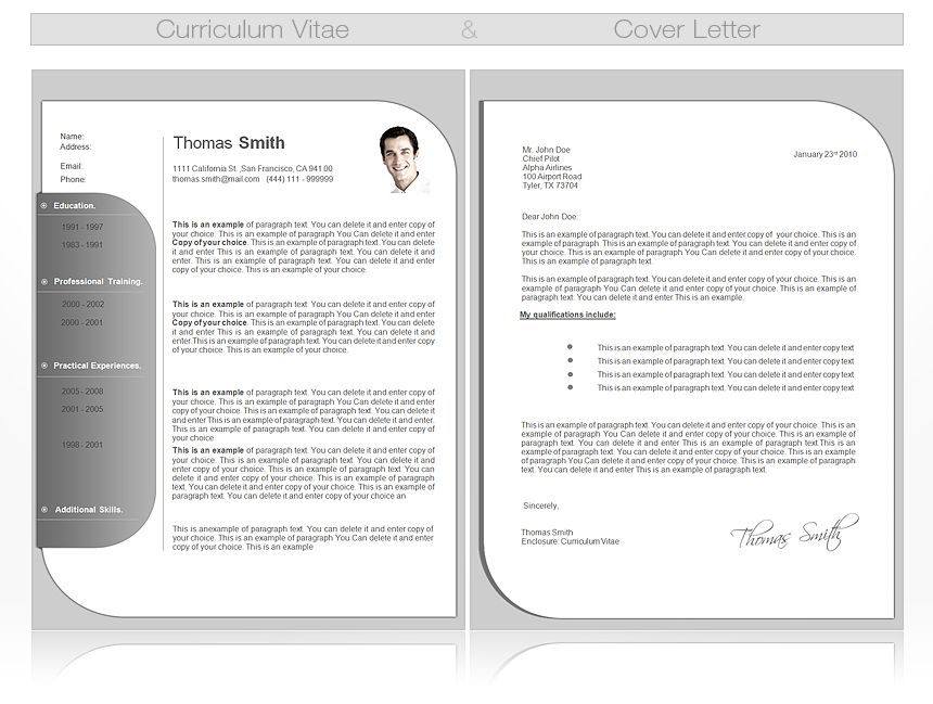 Resume Template Professional Doc