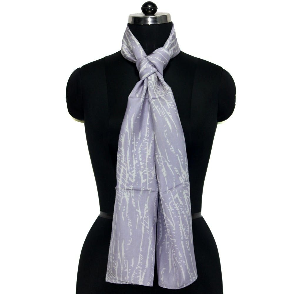 100 Silk Women S Neck Scarf In Light Mauve Color Neck Scarves Womens Neck Scarf Mauve Color
