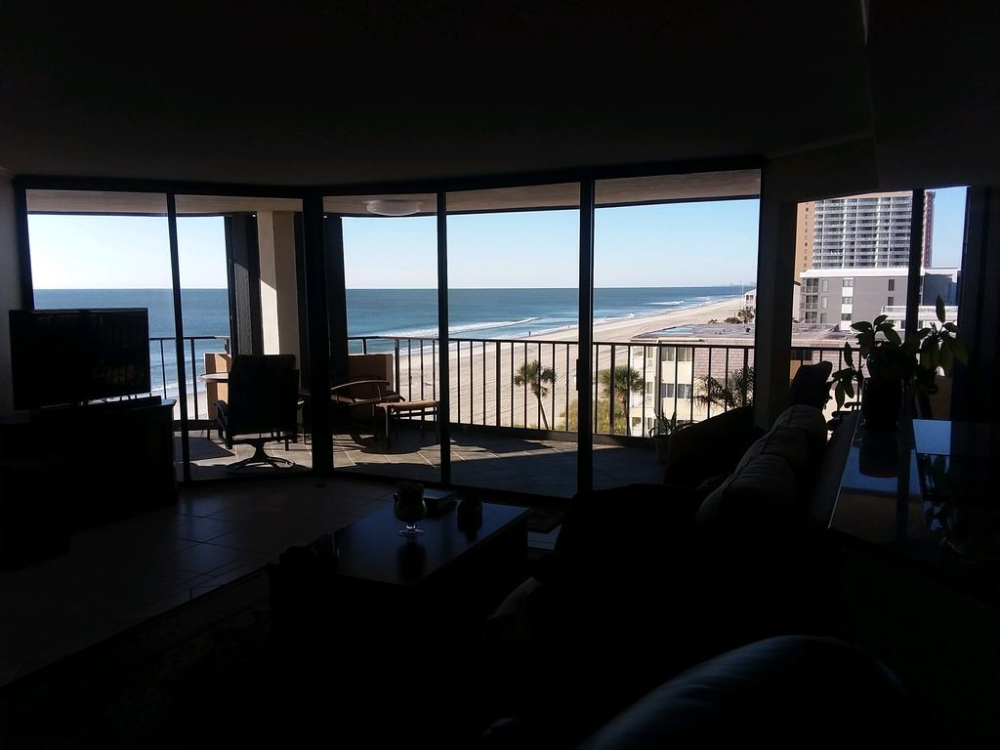 2 Bedroom Luxury Oceanfront Condo 143 Avg Night Myrtle Beach Amenities Include Swimming Pool Air Conditioning Internet Myrtle Beach Condos Beach Condo Vacation