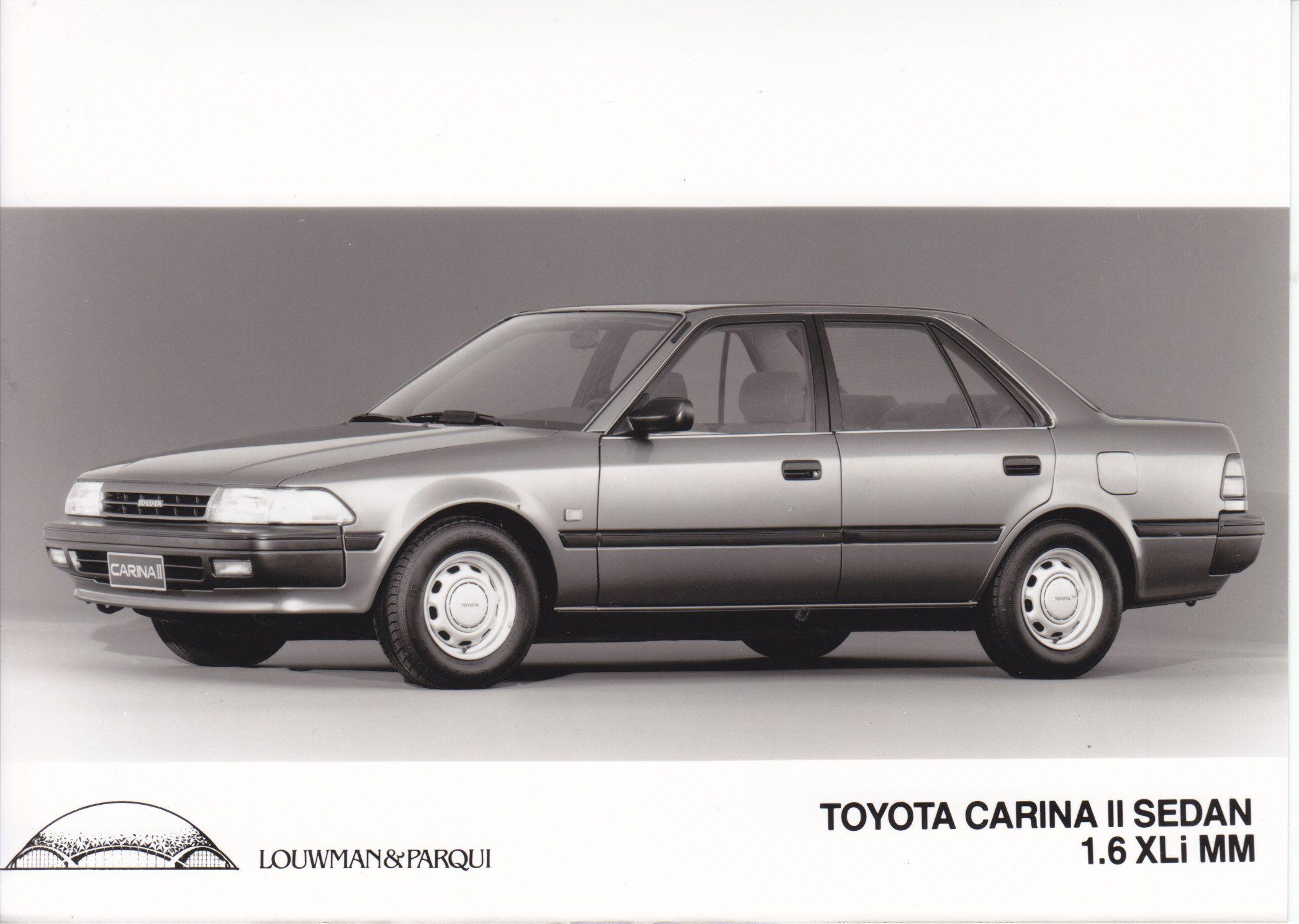 Toyota Carina Ii Sedan 1 6 Xli Mm Importer Photo Nl