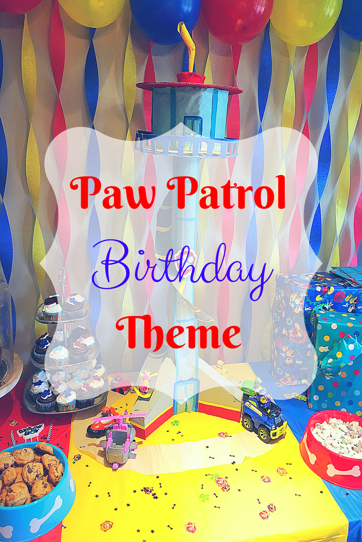 Paw Patrol Birthday Party - Paw patrol birthday, Paw patrol birthday theme, Paw patrol birthday party, Toddler birthday themes, Kids themed birthday parties, Paw patrol decorations - Are you having a Paw Patrol themed birthday party for you child  Here is some easy decor and dessert ideas to make your pawty worthwhile!