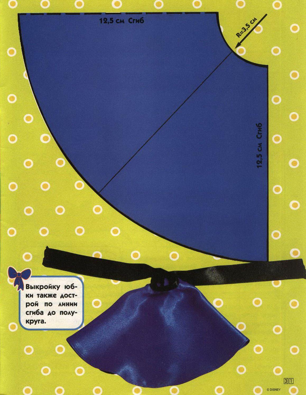 Moldes de ropa para muñecas :lodijoella | Patrones Nancy | Pinterest ...