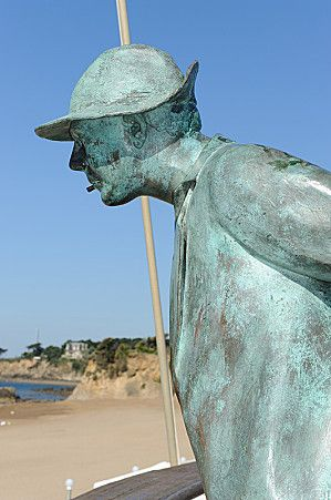 La Plage De Monsieur Hulot : plage, monsieur, hulot, Saint-Marc-sur-Mer, Plage, Monsieur, Hulot, Denifre, Photo, Portraits,, Photos,, Artiste