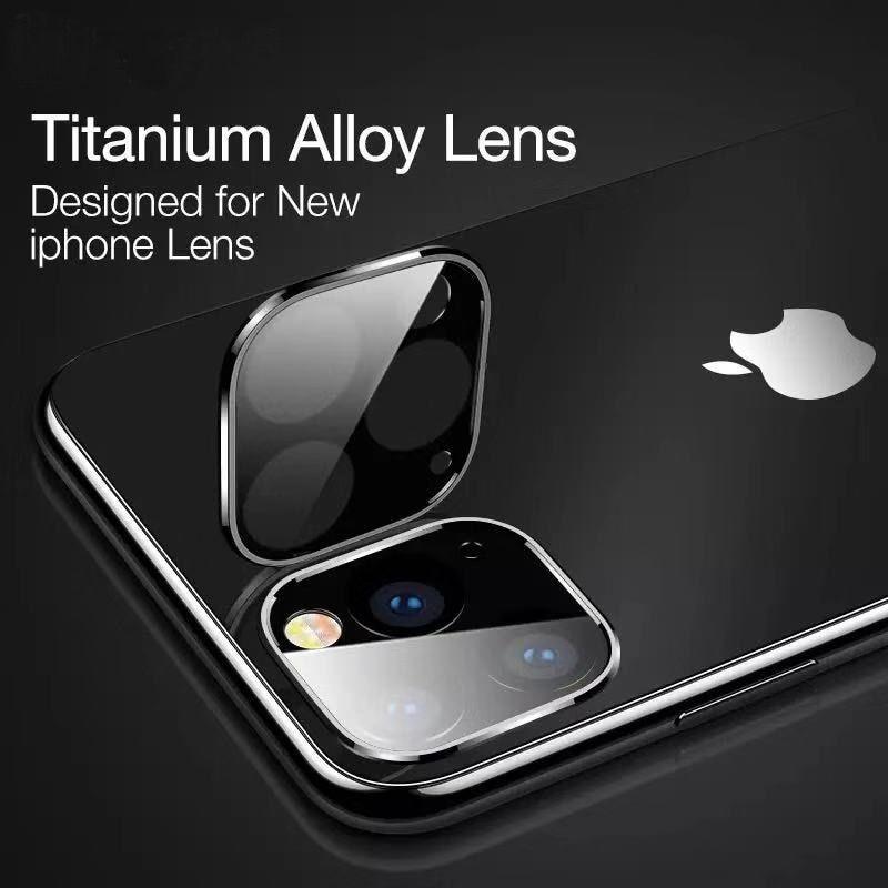 Back Camera Lens Titanium Alloy Tempered Glass For Iphone Xi Xi 11