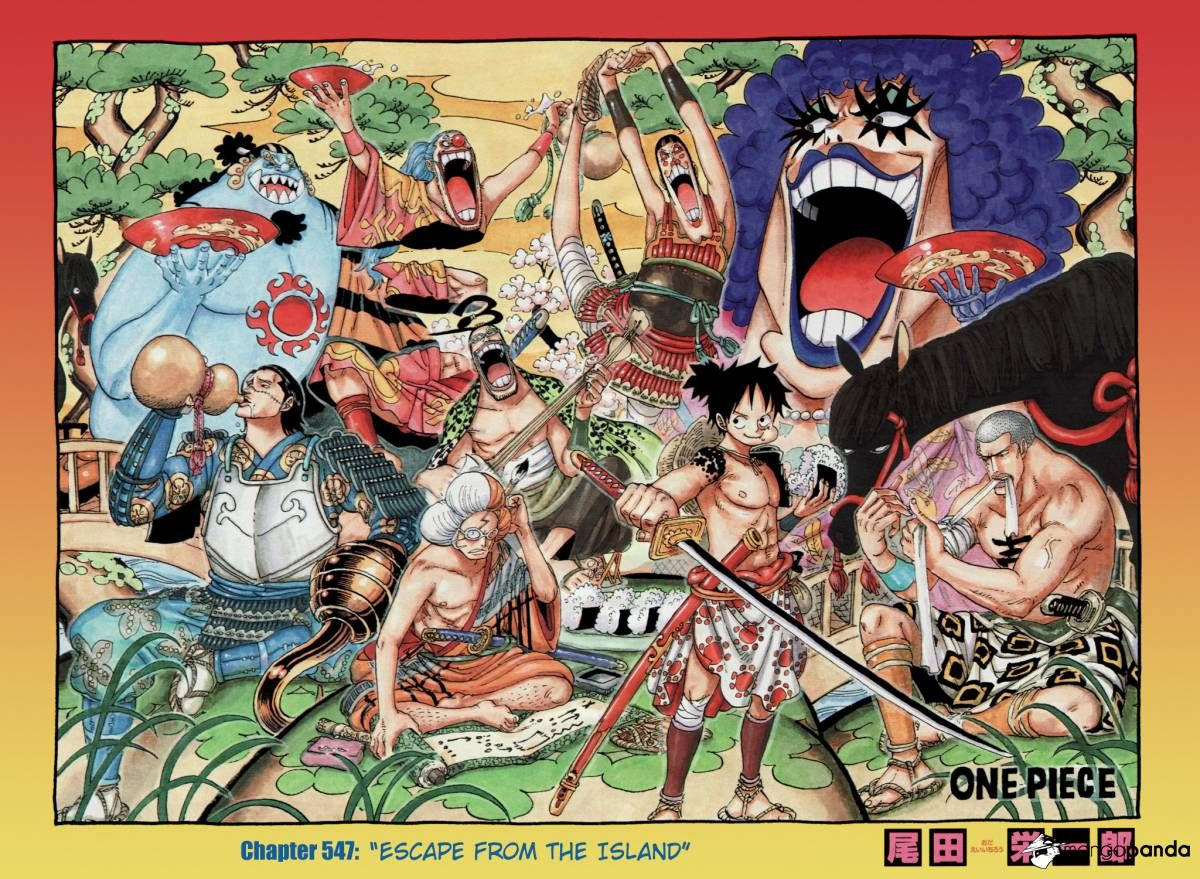 One Piece Colored 547 Page 2 One piece Pinterest Manga