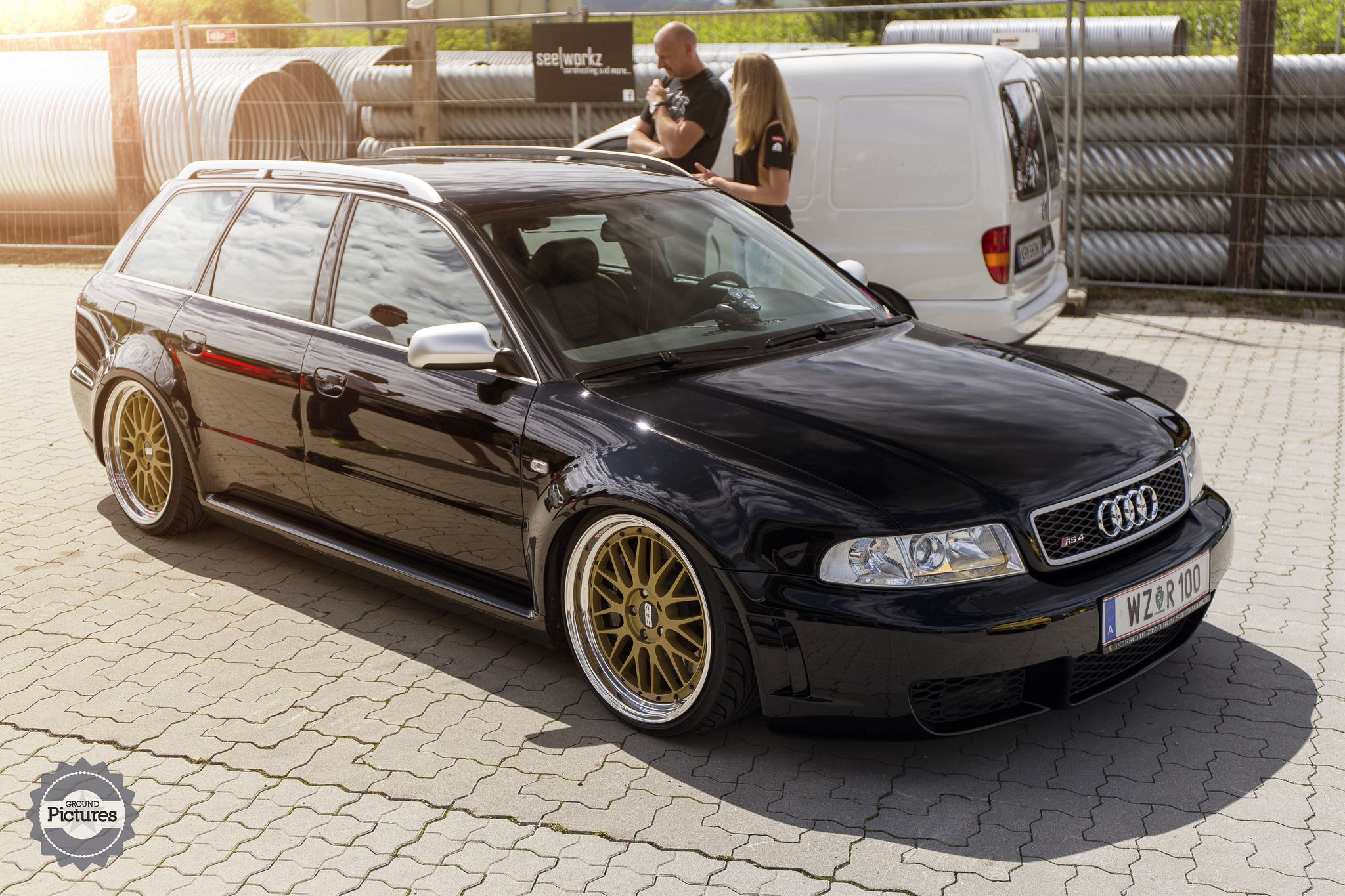 Audi Rs4 Sitting On Bbs Wheels Stancenation Form