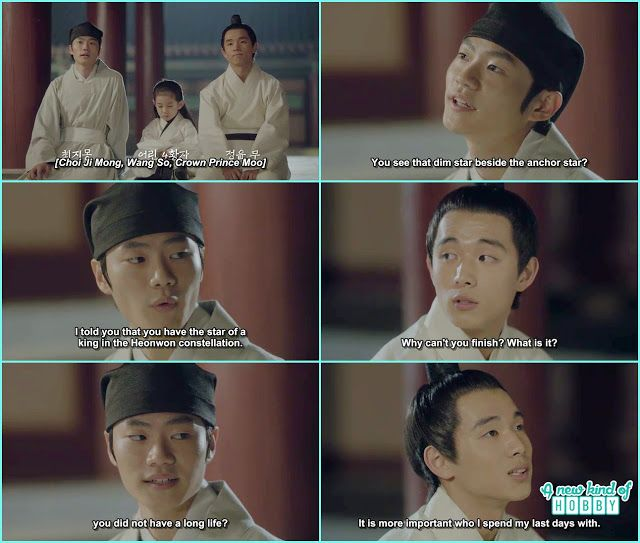 ji monk, wang so and king moo - Moon Lovers Scarlet Heart Ryeo - Ji