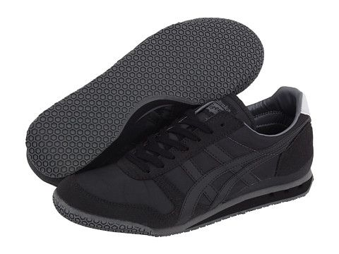pretty nice be302 b6b77 Onitsuka Tiger by Asics Ultimate 81® EXCLUSIVE! Black Steel Grey - Zappos.com  Free Shipping BOTH Ways
