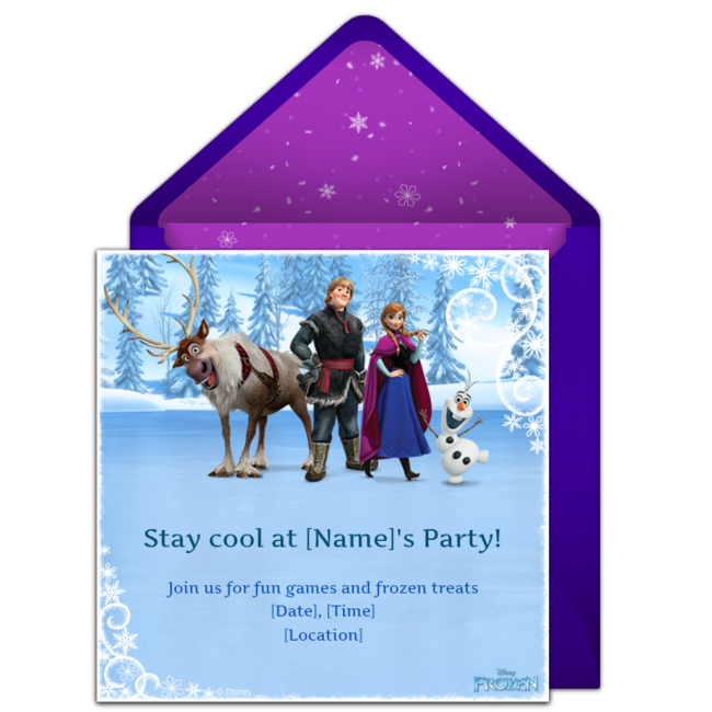 Free Frozen Invitations Frozen party Frozen birthday and Frozen