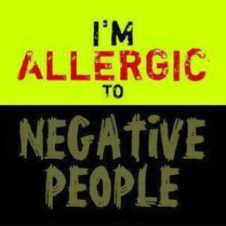 I positively dislike negative people!! Lol