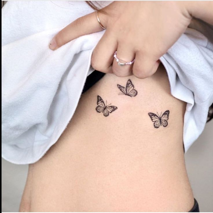 Photo of Butterflies Tattoo Insects