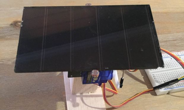 Arduino solar tracker single or dual axis aaaaa