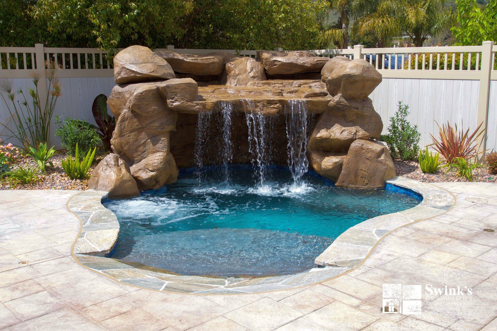 Free Form Shaped Stand Alone Spa Pool Builders Swimming Pools Gunite Pool