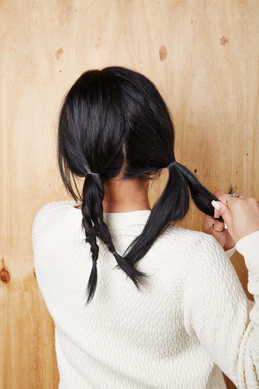 Braids for medium length hair hair tutorial medium length hairs