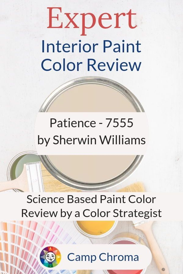 Expert Scientific Color Review Of Patience 7555 By Sherwin