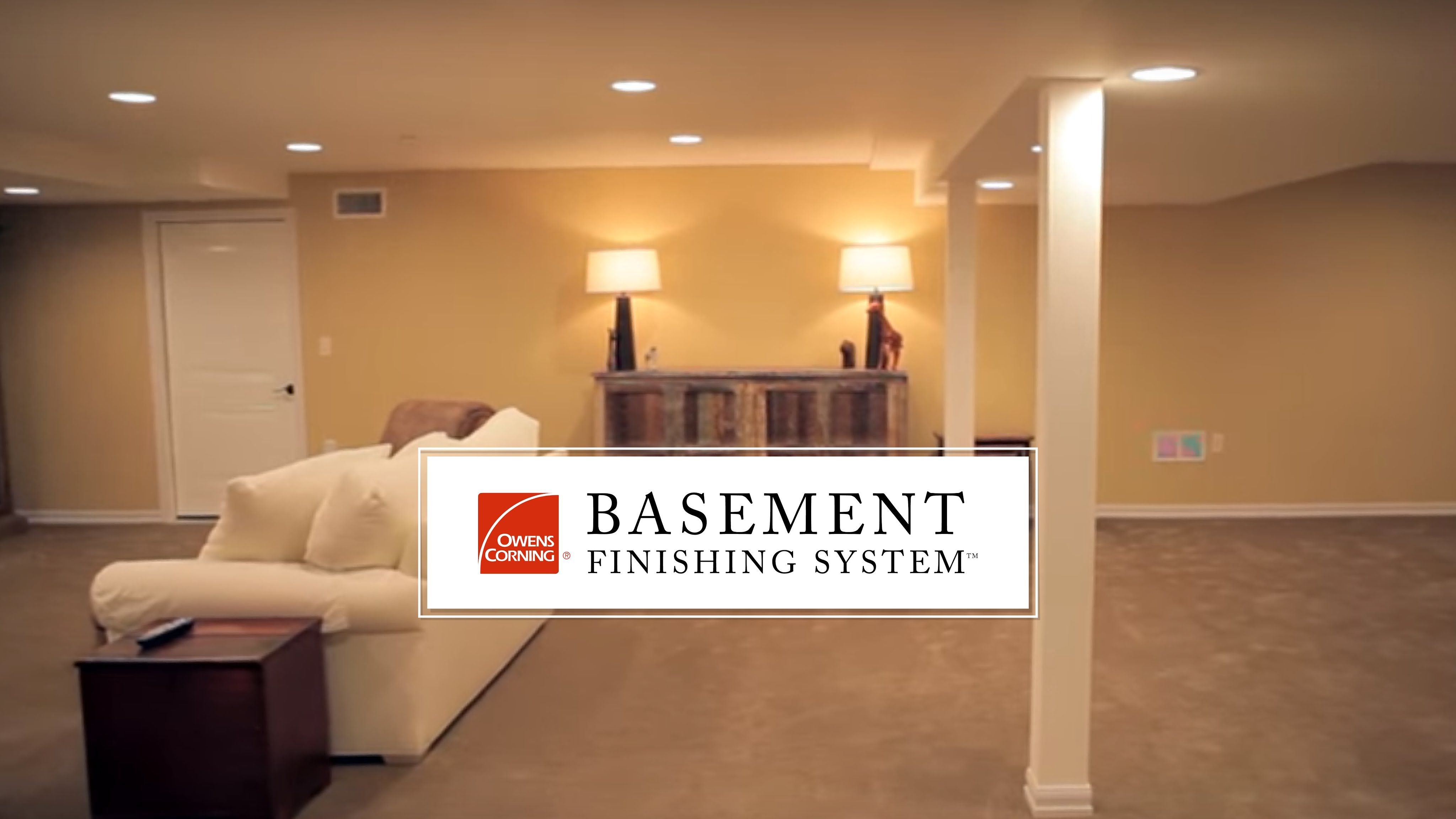 17 Best images about Owens Corning NEW Paintable Basement ...