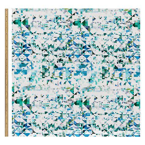 Buy Flock Northmore Minor Furnishing Fabric Online at johnlewis.com (137cm) £35/m