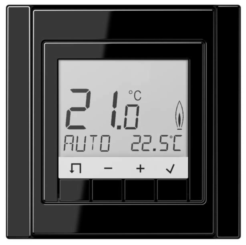 JUNG room temperature, Door communication, Intelligent Buildi ...