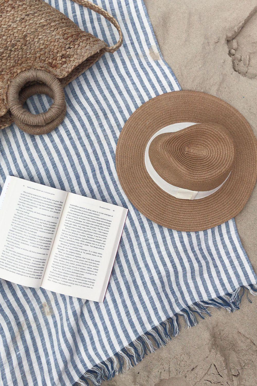 Linen Beach Towel Beach Linens Beach Towel Summer Aesthetic