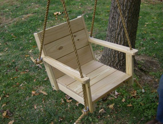 Astonishing Chair Tree Swing 16 Wide Seat Tree Swing Name Engraved Rope Caraccident5 Cool Chair Designs And Ideas Caraccident5Info