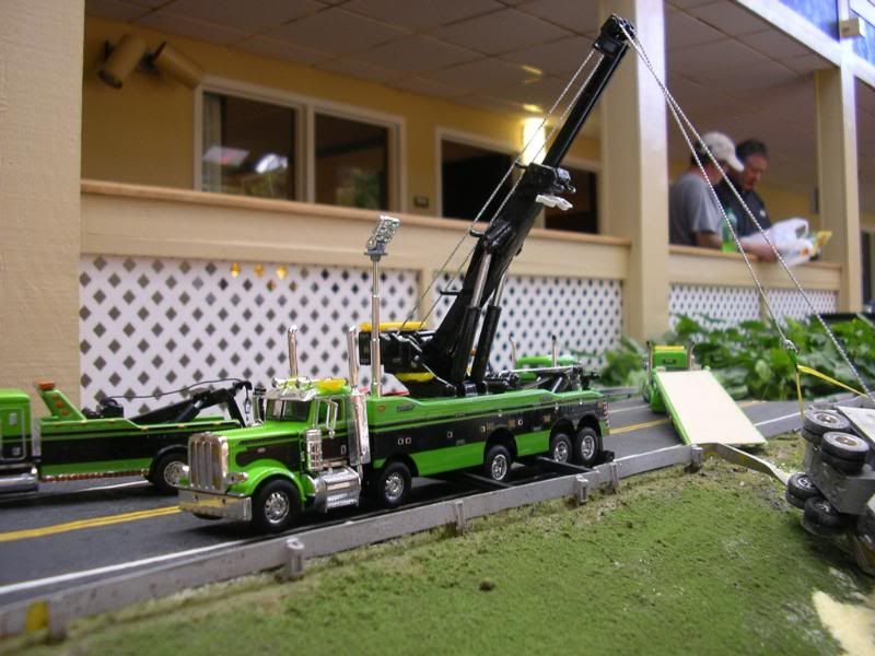 Toy Rotator Tow Truck >> 1/64 Wreck Diorama | shop | Pinterest | Dioramas, Tow truck and Fire trucks