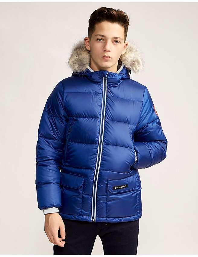 Blue Canada Goose Kids Oliver Jacket Jackets Winter