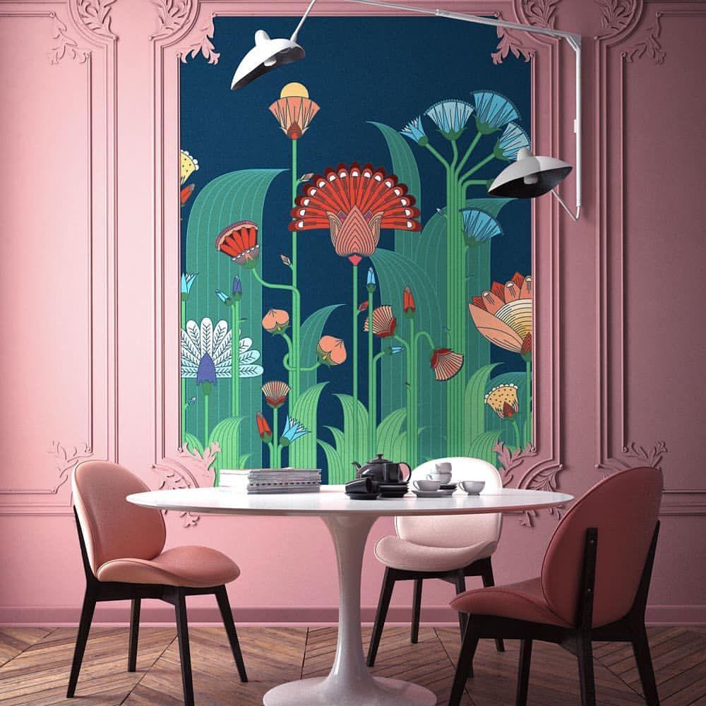 Jardin Exotique Une Fresque Pour Créer Un Univers Joyeux