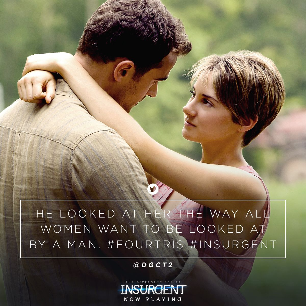 Four & Tris' love could not be more real. Get #Insurgent ...