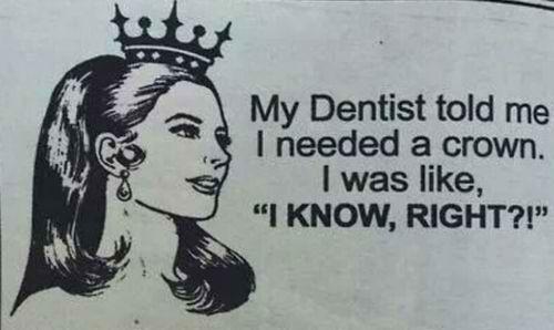 Dental humor - Lakeland Pediatric Dentistry & Orthodontics | #Lakeland | #FL | www.dentistry-pediatric.com