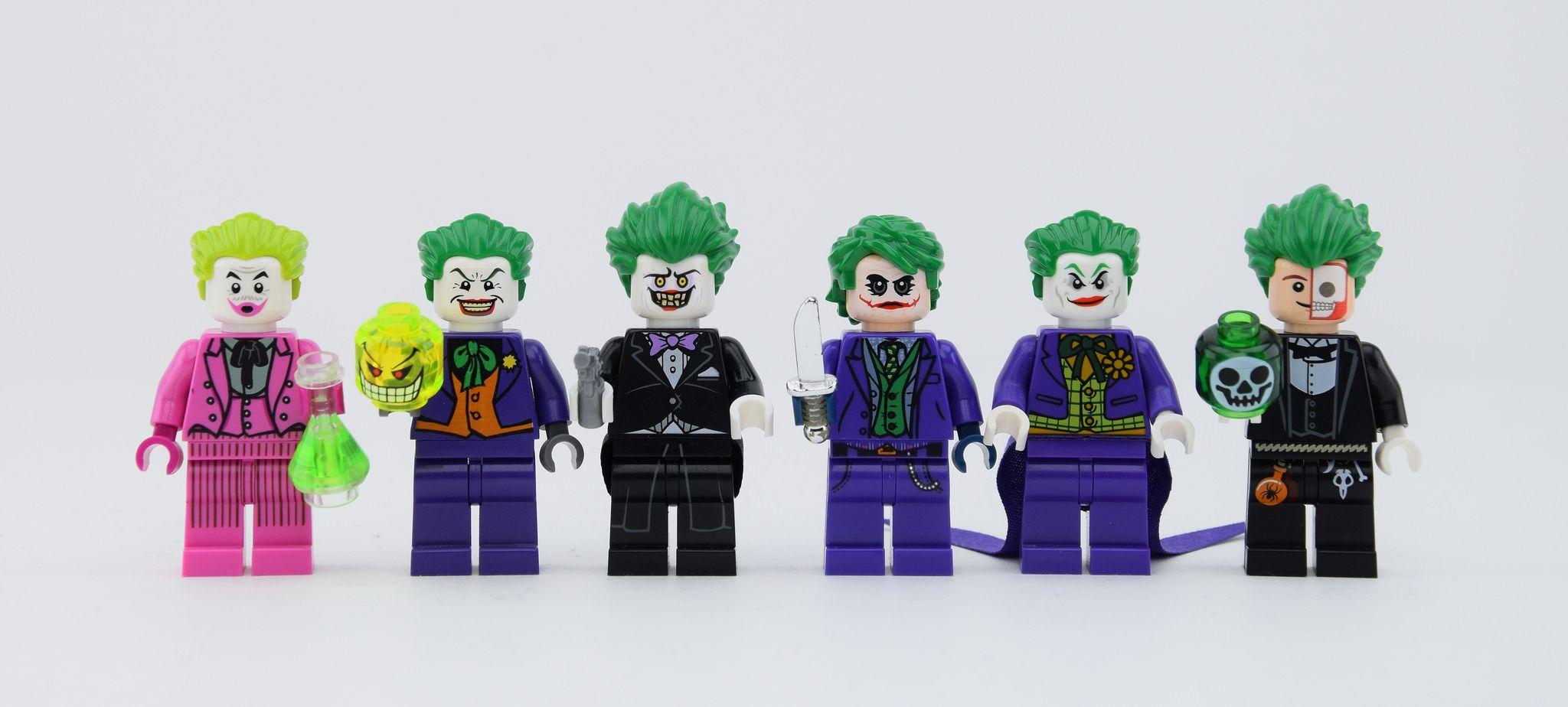 LEGO Custom Jokers by me | Joker suit, Batman arkham ...