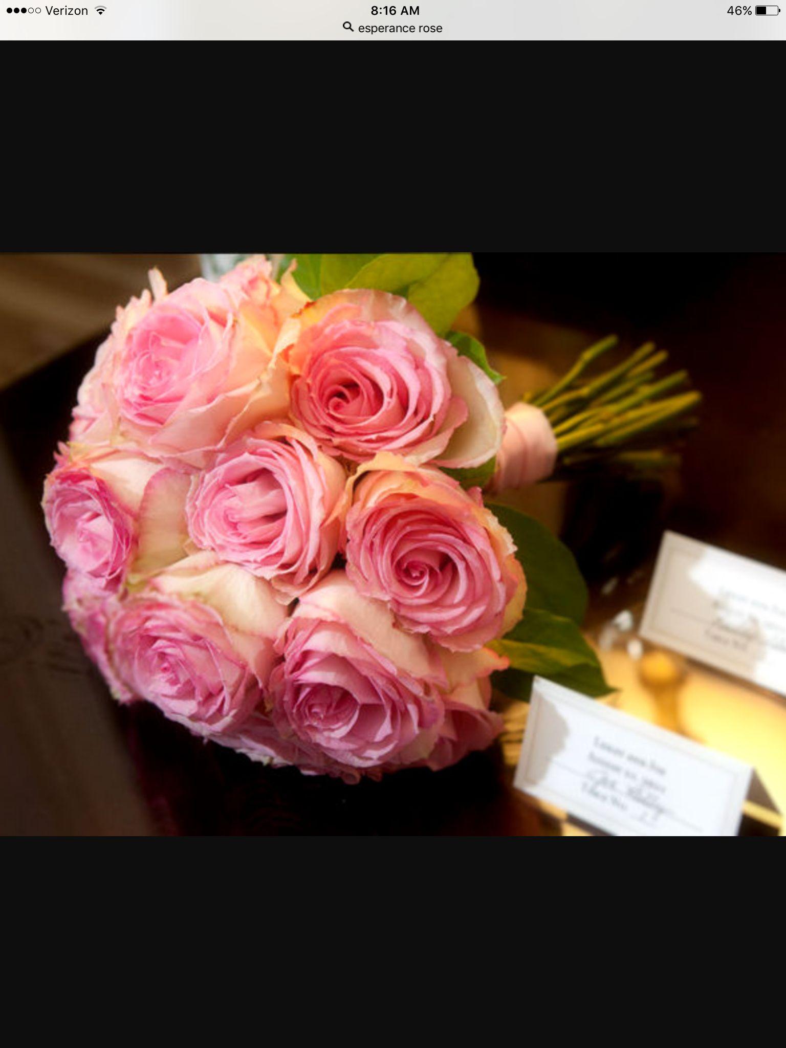 esperance rose bouquet amy gordon floral selections 6 17