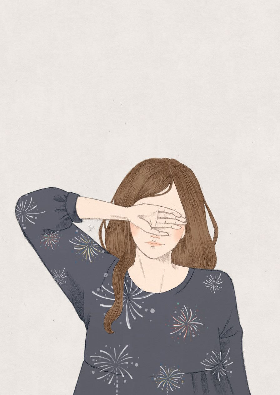 Anime Girl Sadness In Rain HD Wallpaper anime