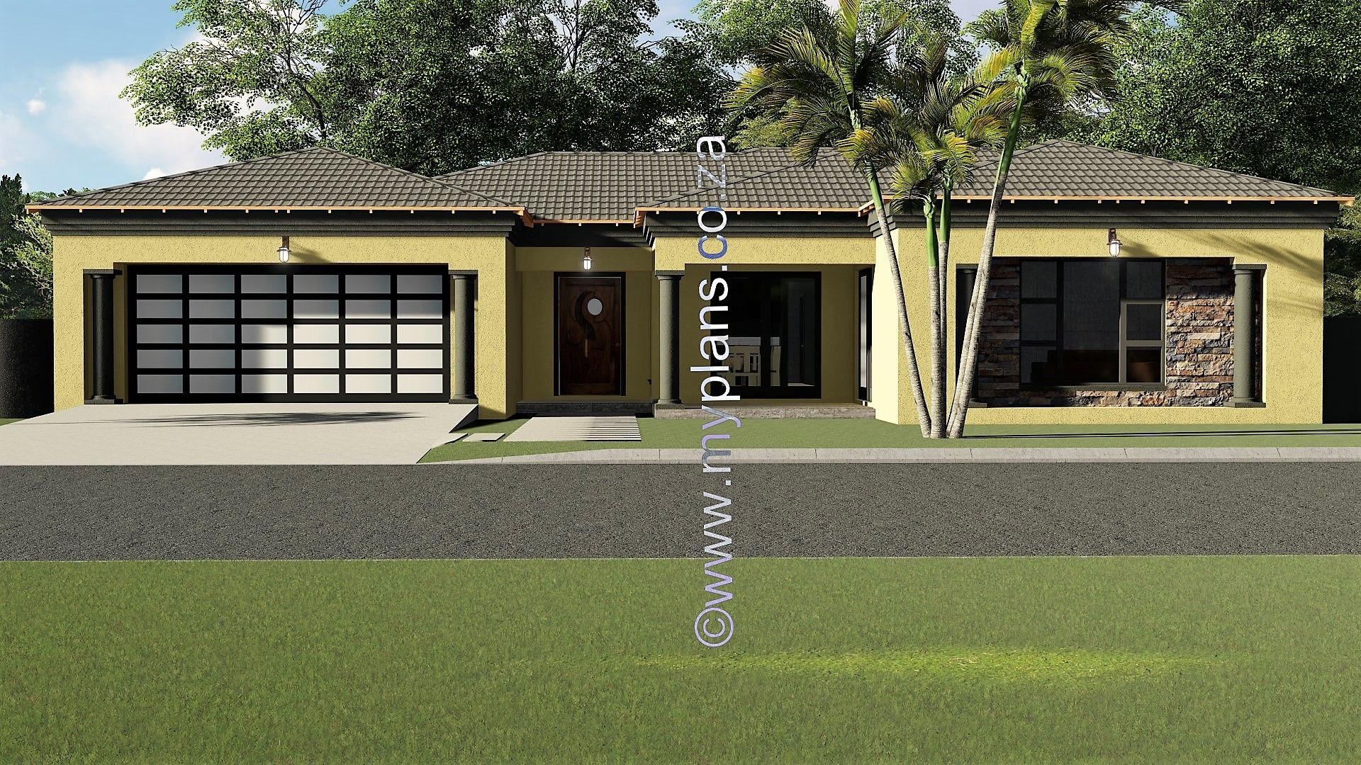 4 Bedroom House Plan Mlb 025s Bedroom House Plans 4 Bedroom House Plans House Plans South Africa