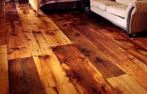 Antique Hemlock Pine Wide Plank Flooring Wide Plank