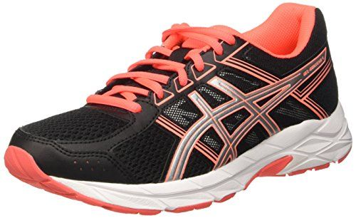 Gel-Fujitrabuco 5, Zapatillas de Correr Mujer, Naranja (Flash Coral/Safety Yellow/Black), 37.5 EU Asics