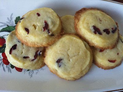 Laws of the Kitchen: Cranberry coins