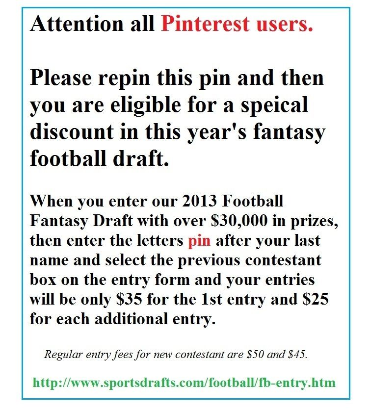 Fantasy Football Draft Form