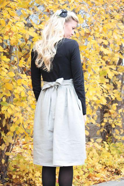 Elle Apparel: Winter Shirt Dress