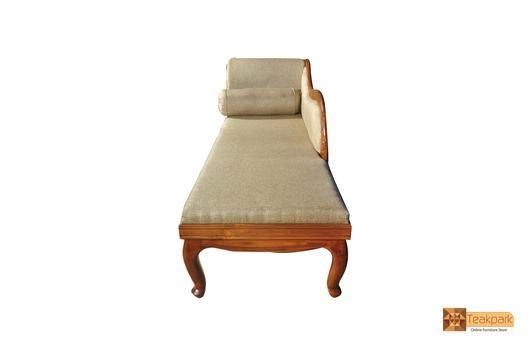 Maurya Teak Wood Diwan Cot Furniture Making Engineered