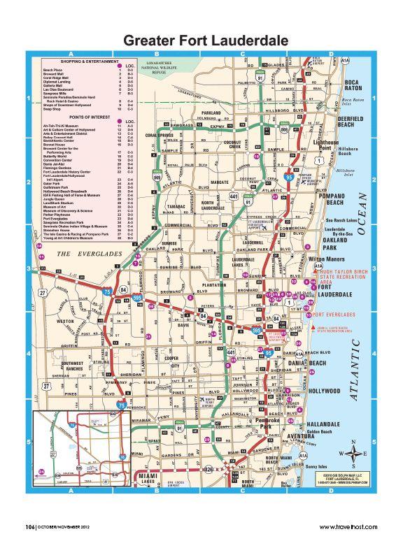 pompano beach fl pompano beach map gooddive places i
