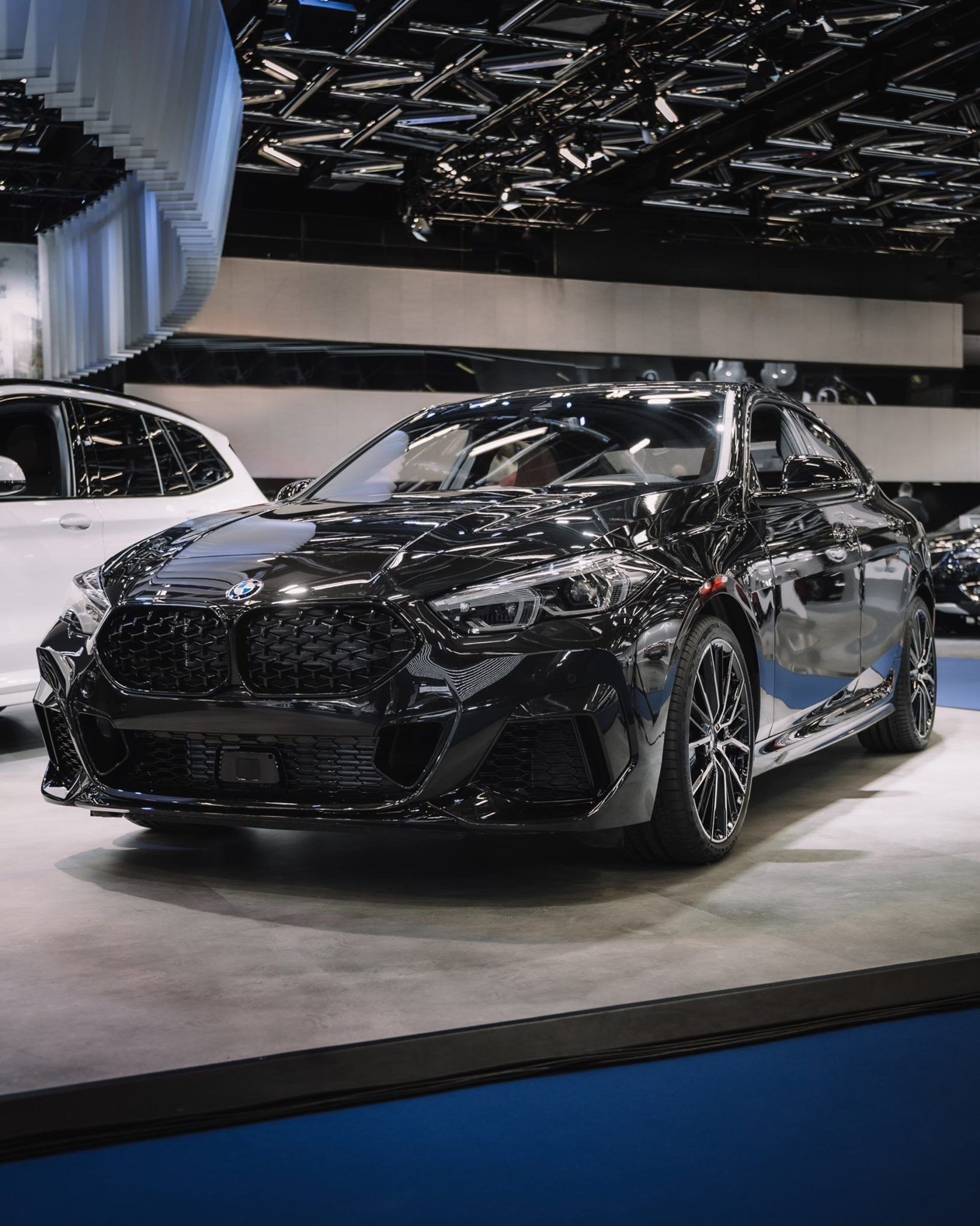Bmw 2 Series Gran Coupe In Sapphire Black Looks Pretty Good In