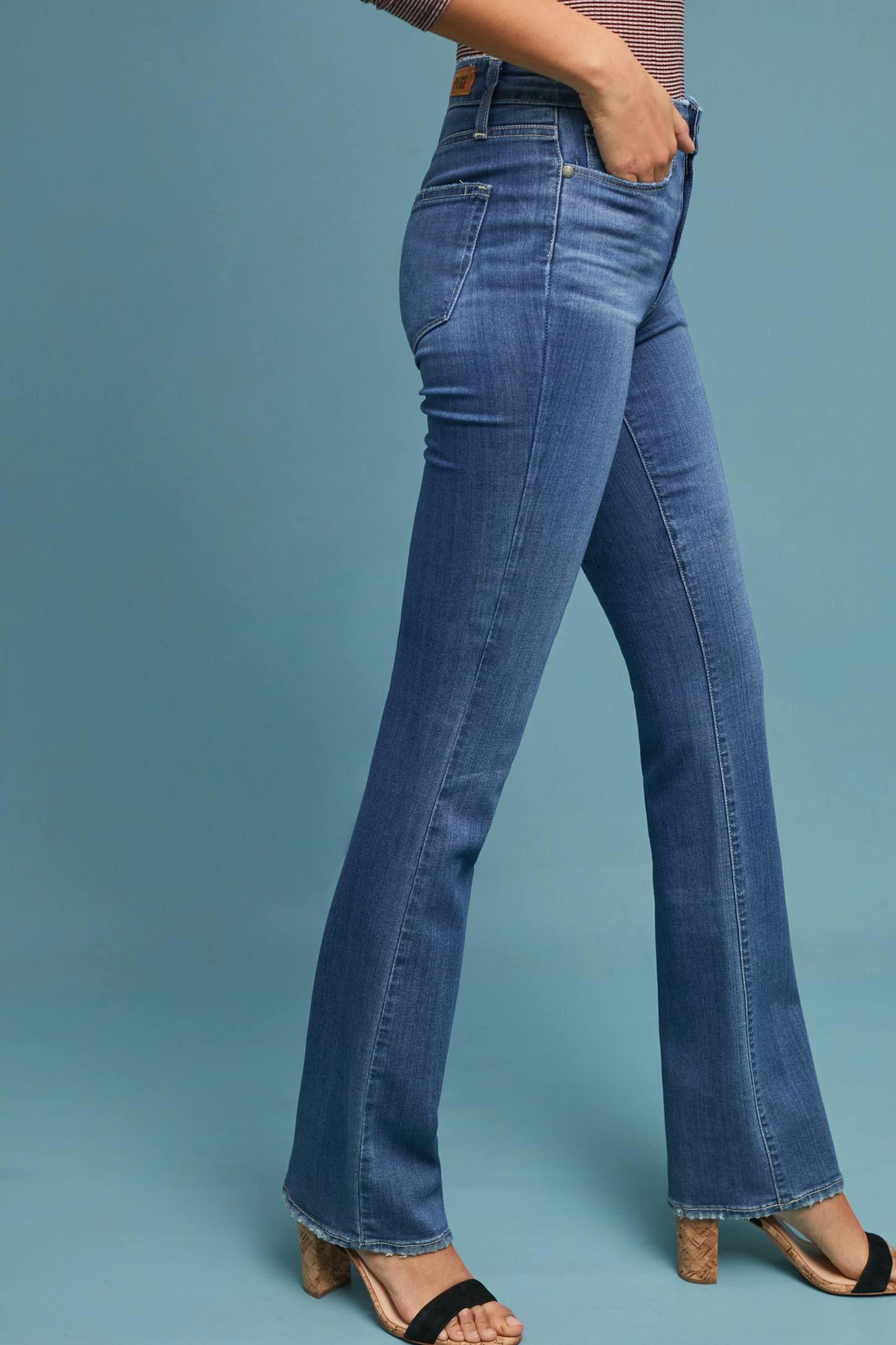 b1690591 Paige Manhattan High-Rise Bootcut Jeans   Pretty Mommy   High rise ...