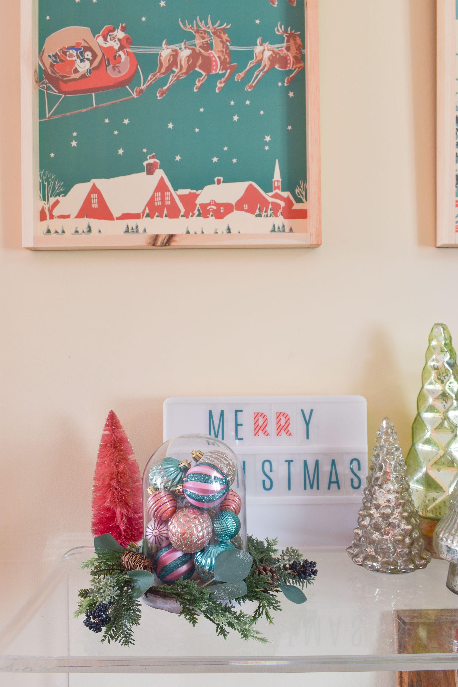 Diy Retro Christmas Art Retro Christmas Retro Christmas Decorations Christmas Diy