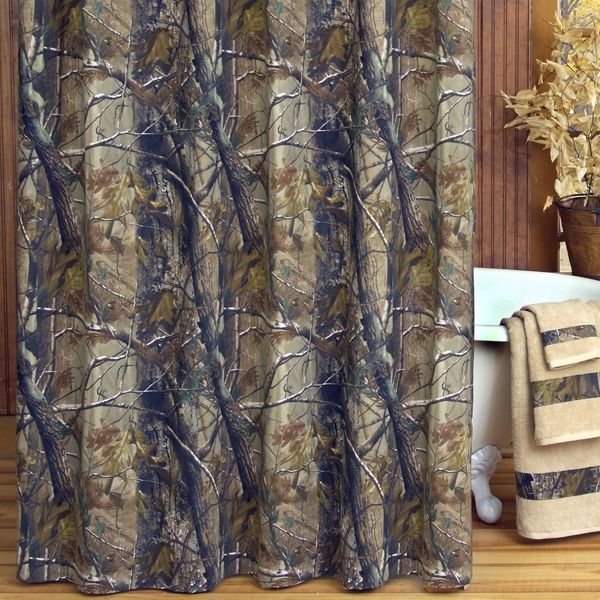 Curtains Ideas cheap camo curtains : 1000+ images about Bathroom Ideas on Pinterest | Camo bathroom ...