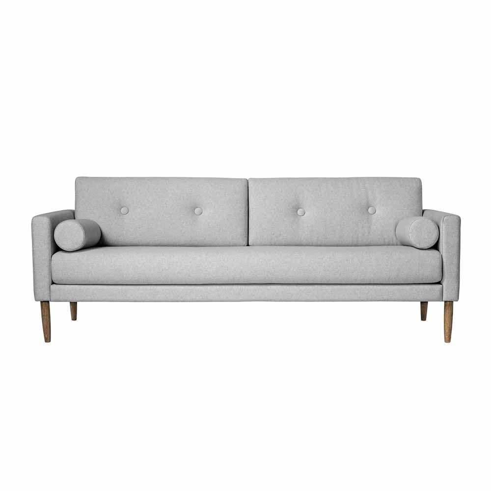 Hellgraues Sofa Im Skandinavischen Design Www Milanari Com