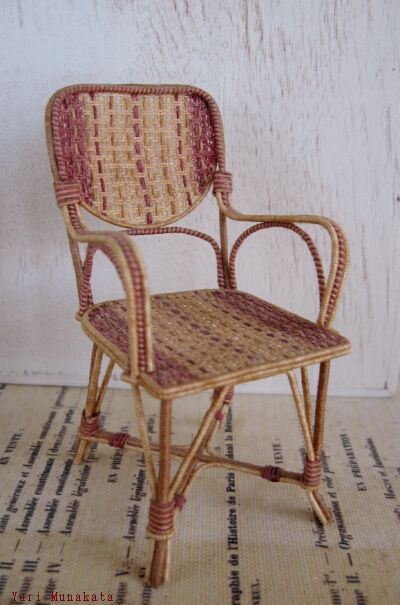 1/12 miniature chair-  Made in France