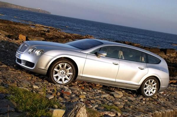 Bentley Continental Flying Star Wagonista Bentley Continental