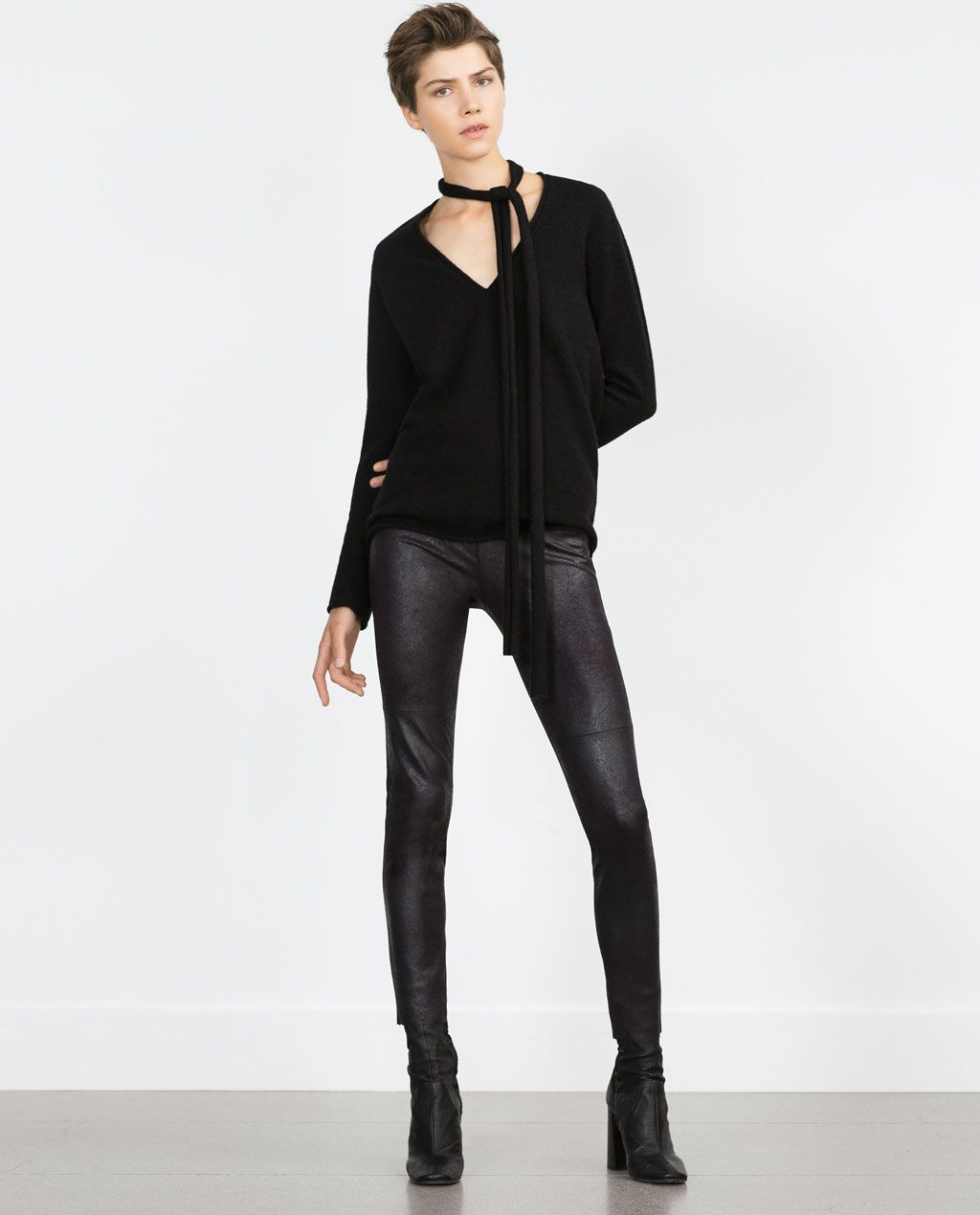 Photo of Image 1 of SKINNY TROUSERS from Zara